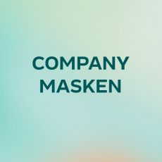 Company Masken mit Logodruck